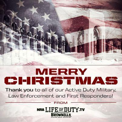 merry christmas  americas military law enforcement   responders