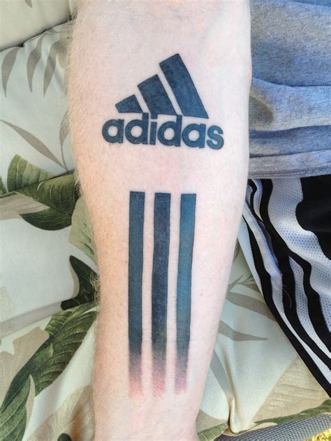 adidas adidas adidas and tattoos