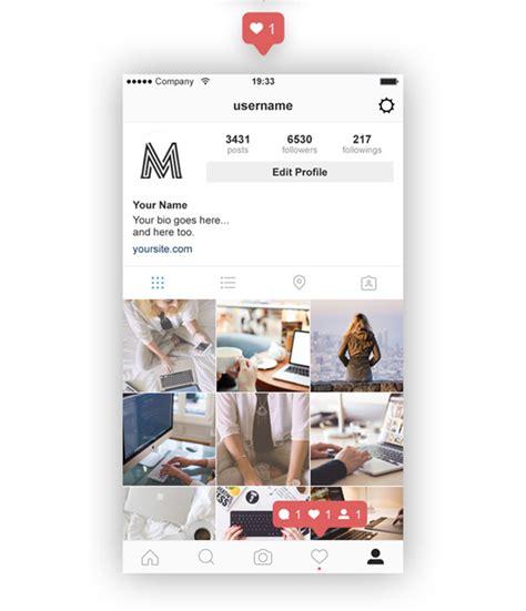instagram info layout 20 best free instagram mockup templates 2018 themelibs