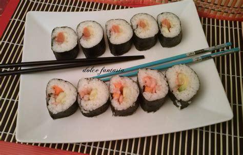 sushi fatto in casa sushi fatto in casa