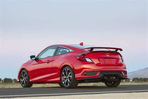Honda Civic Si 2017 Price by 2017 Honda Civic Si Drive Review Automobile Magazine