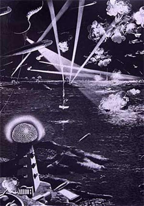 Tesla War Illustration Of War In The Future