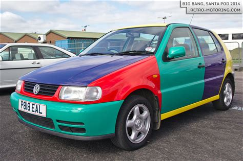 volkswagen harlequin vw polo harlequin p818eal big 2014 retro motoring