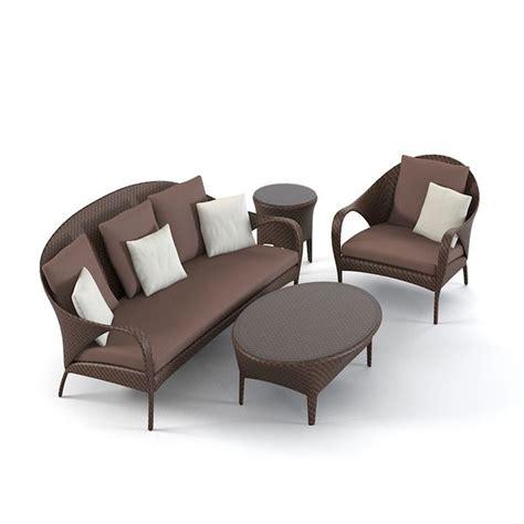 Dedon Patio Furniture Dedon Oudoor Furniture 3d Model