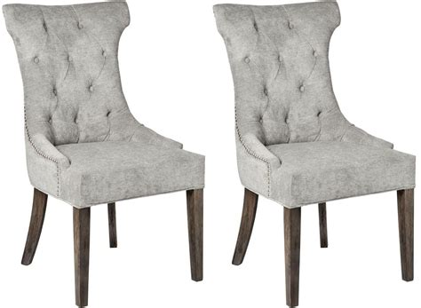 Ring Pull Dining Chair Buy Hill Interiors Silver High Wing Dining Chair With Ring Pull Pair Cfs Uk