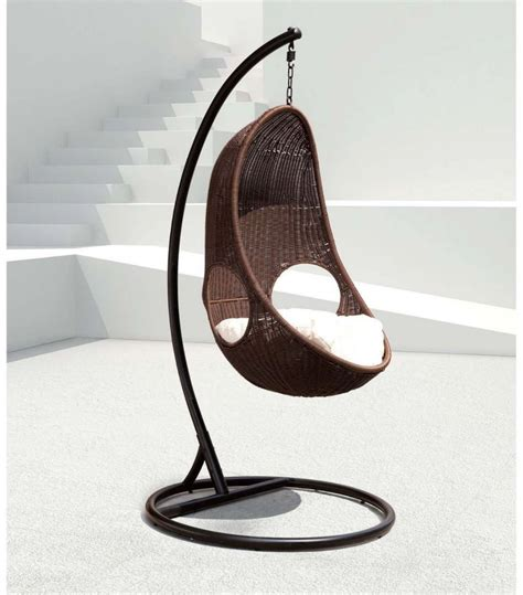 swing egg chair review wicker swing chair by panama jack