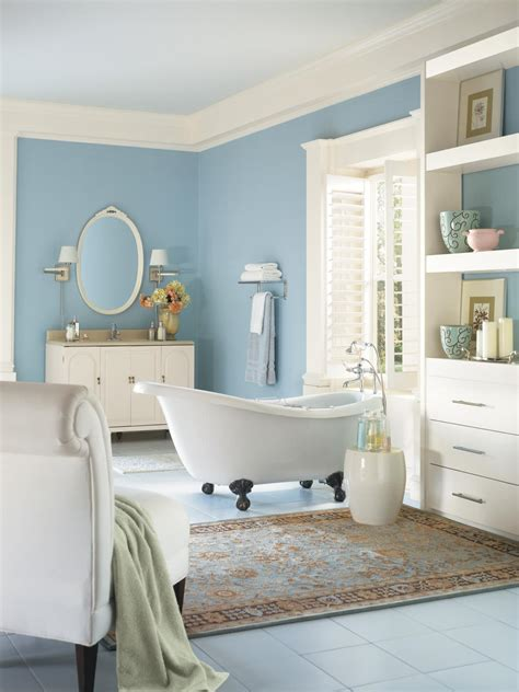 color bathroom 5 fresh bathroom colors to try in 2017 hgtv s decorating