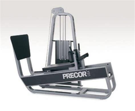 precor bench press precor icarian horizontal leg press fit4sale com