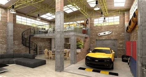 Living In A Garage | creative interior redesign ideas for amazing garage makeovers