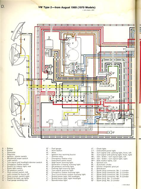 1969 volkswagen beetle alternator wiring diagram generator
