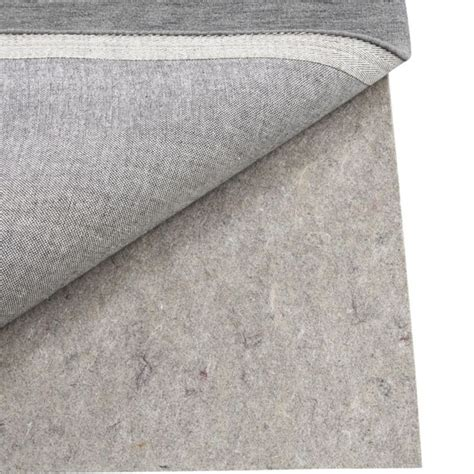 rug runner pad multisurface 5 x8 thick rug pad crate and barrel synthetic rubber and floor