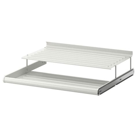 ikea pull out shelves komplement pull out shoe shelf white 75x58 cm ikea