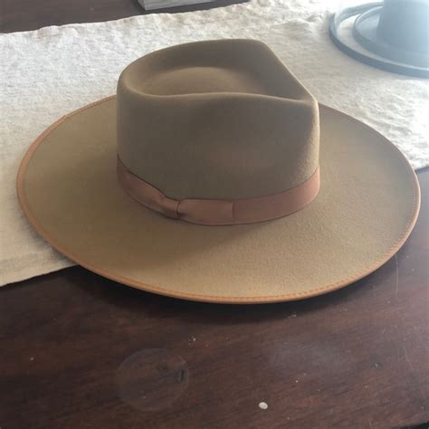 lack of color lack of color accessories brand new teak rancher wool