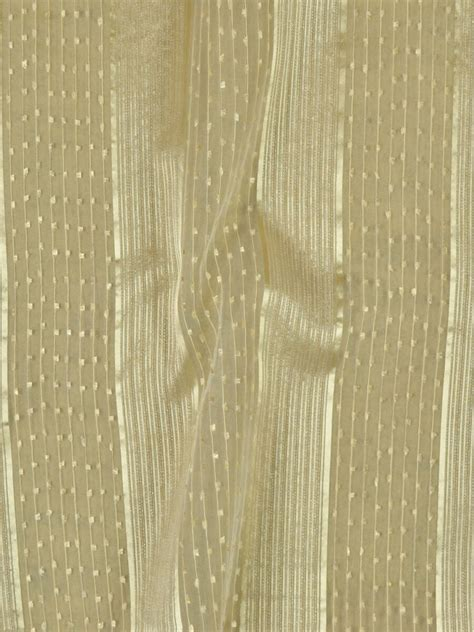 Gold Striped Curtains Qy7151sb Striped Custom Made Sheer Curtains With Gold Line