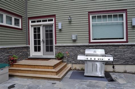 back door deck steps deck designs and outdoor spaces pinterest