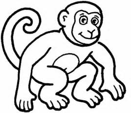 monkey coloring page monkey coloring page coloring page