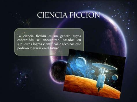 Ciencia Ficcin by Presentaci 243 N Ciencia Ficcion