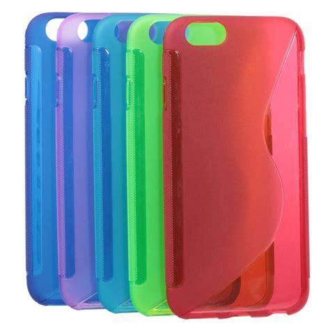 Iphone 6 Wave Tpu Green s line wave slim tpu silicone soft back cover for
