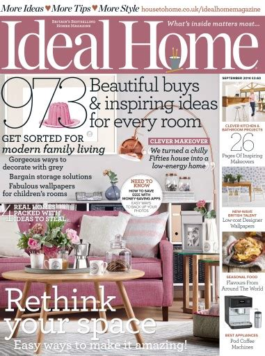 ideal home magazine july 2014 subscriptions pocketmags ideal home magazine september 2014 subscriptions