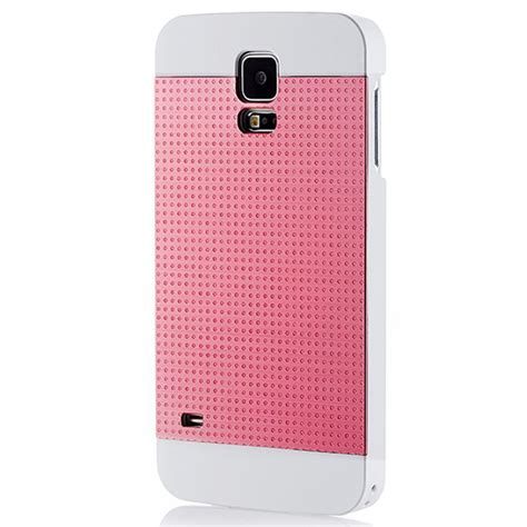 Motomo Ino Metal Samsung Galaxy J1ace Fuchsia motomo ino metal perforated for galaxy s5 pink