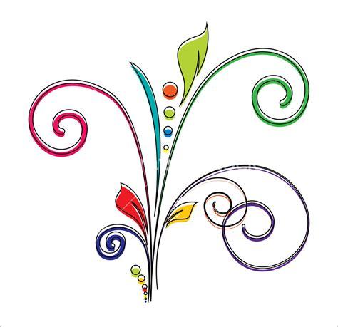 Decorative Flourish by Decorative Flourish Vector Design Element