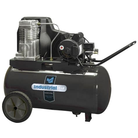 industrial air 20 gal portable electric air compressor ip1982013 the home depot
