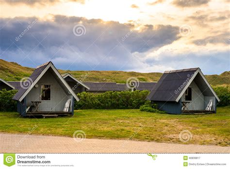 vacation cottage in denmark by m 248 n huset small house bliss danish vacation cottages stock photo image 40839817