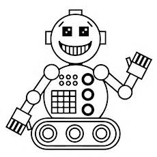 Robot Coloring Pages Cute Doggy sketch template