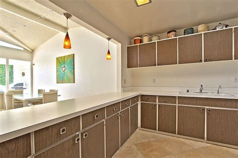 mid century modern kitchen cabinet doors midcentury modern real estate palm springs california