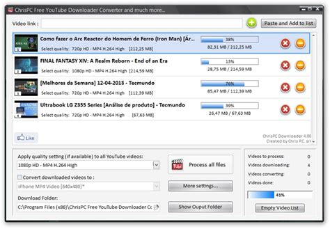 download youtube list chrispc free youtube downloader converter download