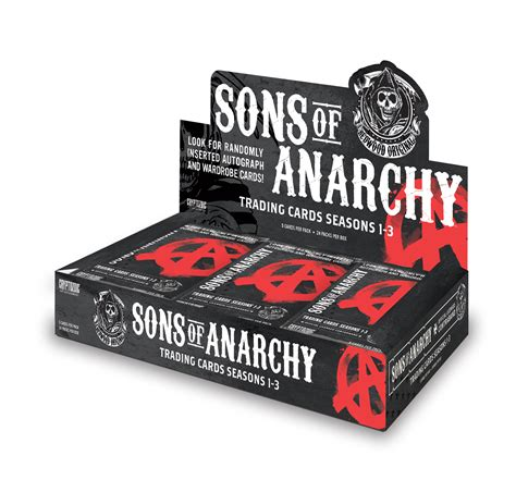 sons of anarchy trading cards seasons 1 3 cryptozoic