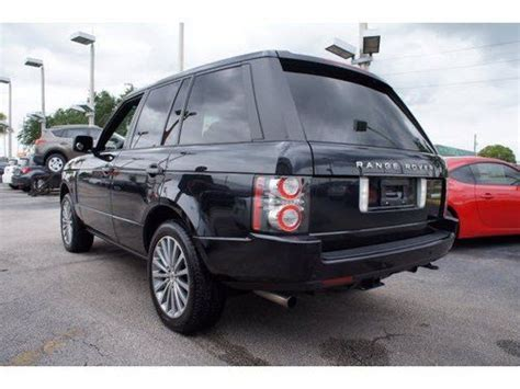 Lehman Toyota Purchase Used 2011 Land Rover Range Rover Sc 70895