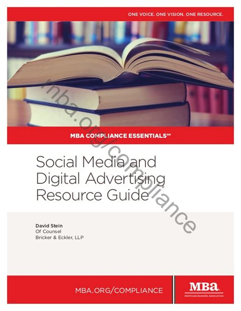 Mba Digital Media by Mba Compliance Essentials Social Media And Digital