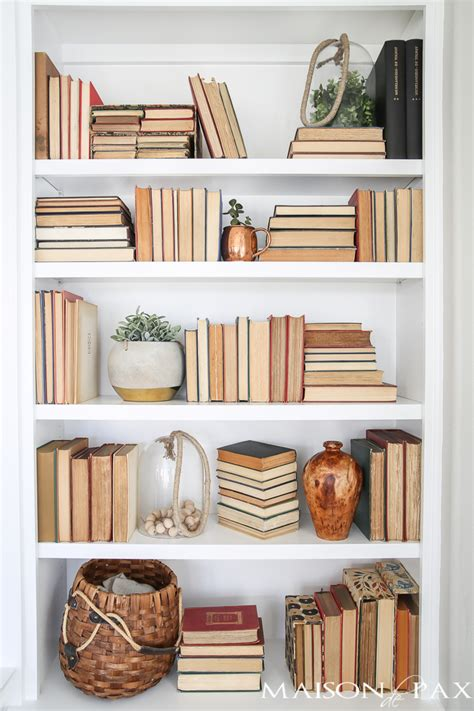 books for decorating shelves tips for styling bookcases maison de pax