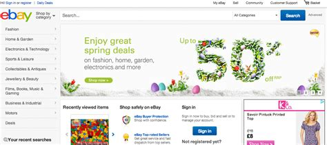 ebay uk my ebay new ebay cosmetic updates launch in the uk tamebay