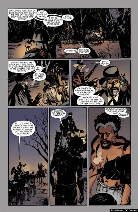 unchained books django unchained comic book preview the issue