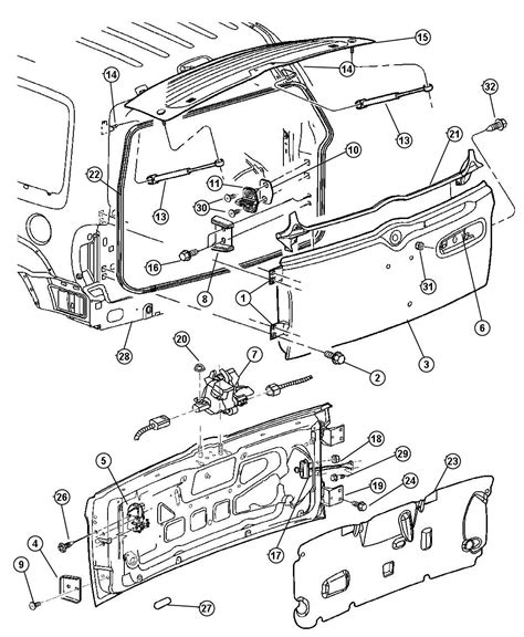 motor repair manual 2004 jeep liberty parking system 2004 jeep liberty parts diagram images