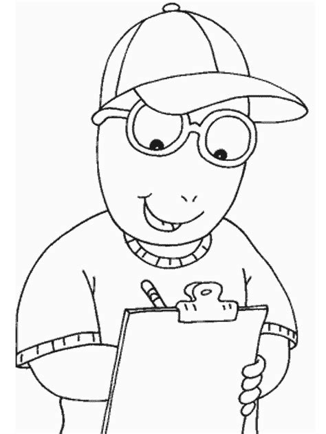 coloring pages to printable free printable arthur coloring pages for kids