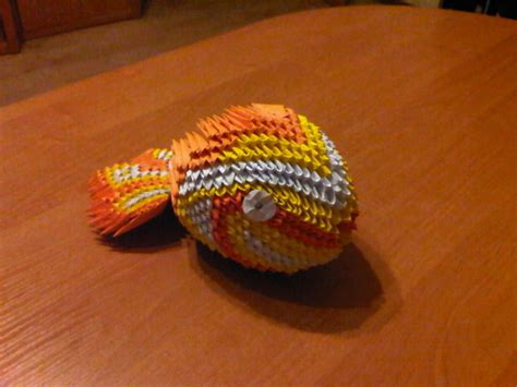 How To Make 3d Origami Fish - 3d origami koi fish by suslis on deviantart