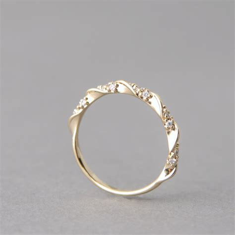 cz simple engagement ring gold at from