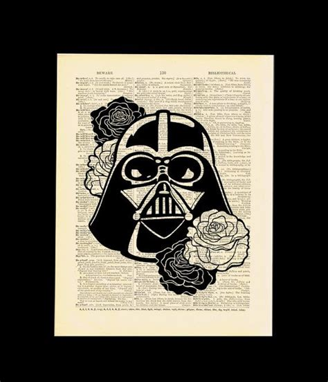 geekery geek darth vader star wars art by
