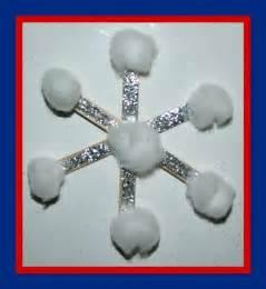 Preschool Winter Crafts Snowflake
