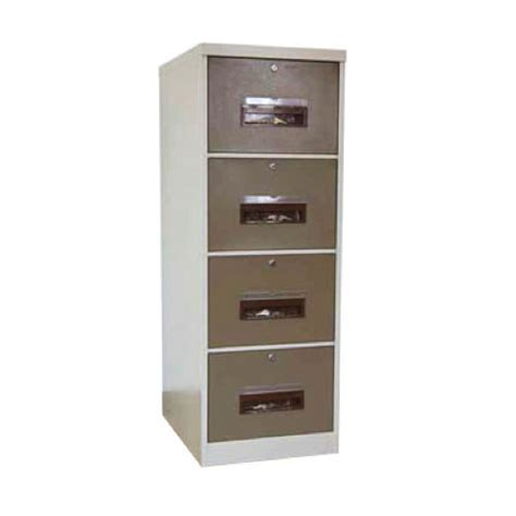 4 drawer filling cabinet with independent locking arran