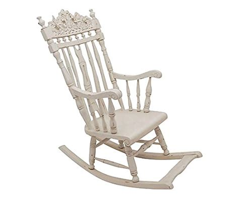 chaise 224 bascule blanche