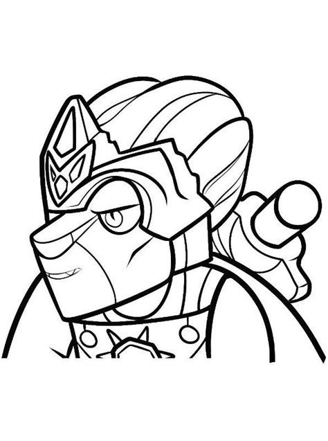 n 15 coloring pages of lego chima