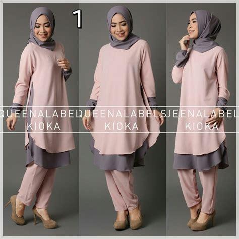 Sachi Tunik Pakaian Wanita Pakaian Modis Supplier Pakaian grosir pakaian modis baju modis kioka dusty grosir baju muslim pakaian