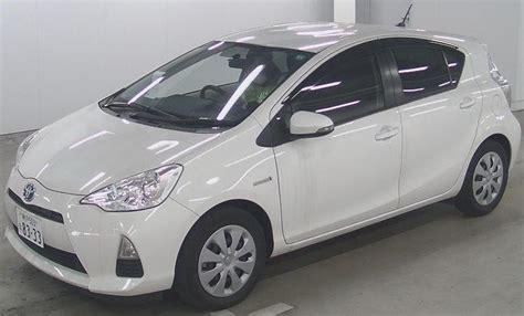 toyota white car toyota aqua hybrid pearl white car sale in sri lanka
