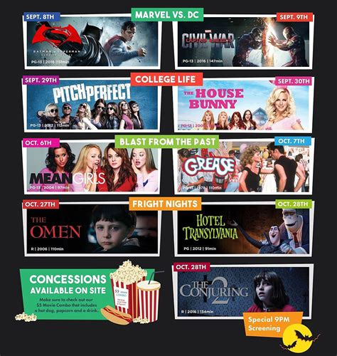 2016 film lineup fall 2016 get reel film series lineup to feature theme