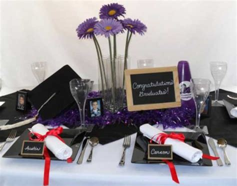 graduation centerpieces for guys 65 creative graduation ideas your grad will
