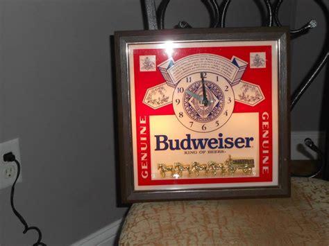 budweiser light for sale budweiser light clock for sale classifieds